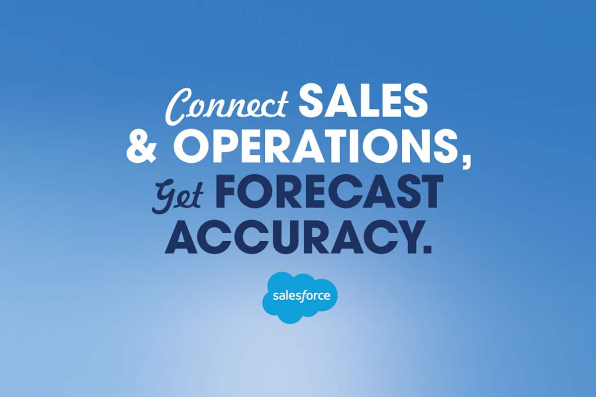 A Month of Learning: Salesforce Helps Connect Sales and Operations