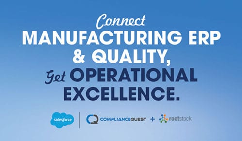 Drive Manufacturing & Quality Excellence with a Connected Platform