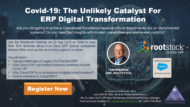 Covid-19: The Unlikely Catalyst for ERP Digital Transformation