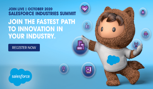 Salesforce Industries Summit Manufacturing Channel Virtual Event