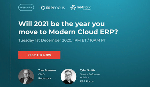 Will 2021 be the year you move to Modern Cloud ERP?