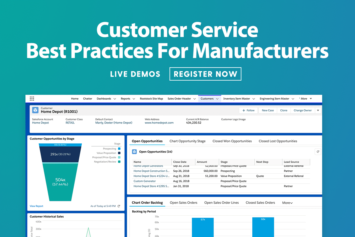 It's Customer Service Best Practices for Manufacturers Month at Rootstock