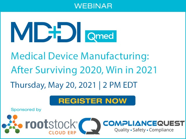 Medical Device Manufacturing: After Surviving 2020, Win in 2021