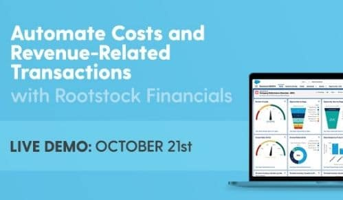 Automate Costs and Revenue-Related Transactions with Rootstock Financials: October 21st